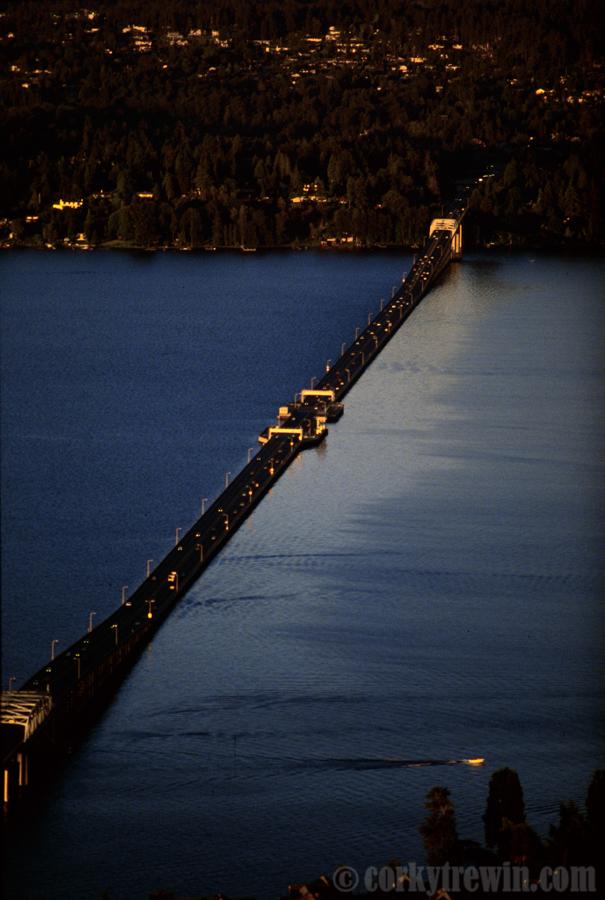 Evergreen Point Floating Bridge 171 Corky Trewin